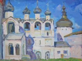 Колокольня Ростовского кремля