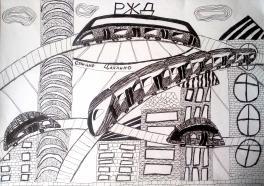 Станция Цаплино в будущем