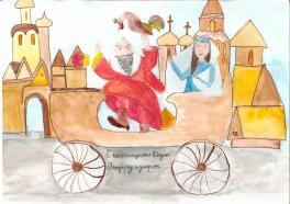 С колесницы пал Додон