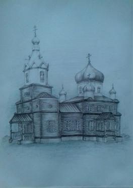 Пророко-Ильинская православная церковь с.Ракиты Михайловского района