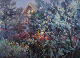 Вечер в саду