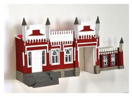 Макет «Исторические прогулки. Дом в готическом стиле.»