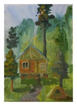 Домик в гора