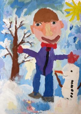 Мой снеговик