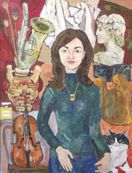 Портрет М.Г. Шаповаловой