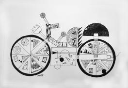 Увлекательная геометрия:  Мотоцикл