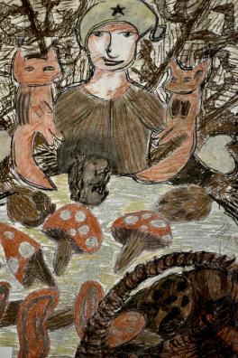 Набрали грибов