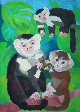 Семья капуцинов