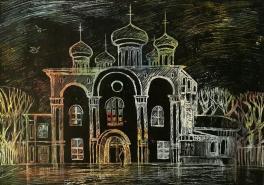 У стен белокаменных тихо стою.... Храм преподобных Афанасия и Феодосия Череповецких