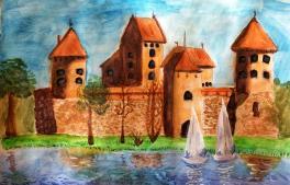 Неприступный замок Тракай
