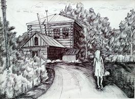 Дорога к старому дому