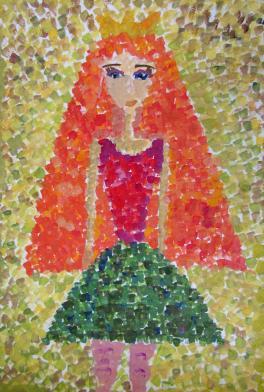 Портрет куклы Кати