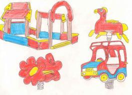 Детская площадка. Зарисовка