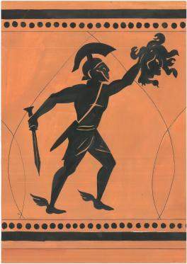 Персей с головой Горгоны.Древнегреческая легенда.