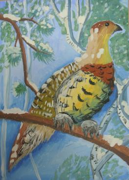 Лесная птица