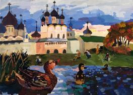 Пленэр в Ростовском кремле