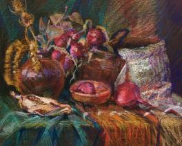 Натюрморт с луком
