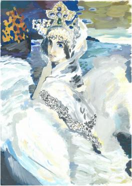 Царевна-Лебедь (вольная копия)