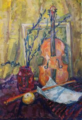 Натюрморт со скрипкой
