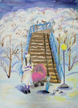 «Зимняя прогулка»