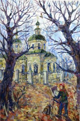 Осенние этюды (Покровская церковь)