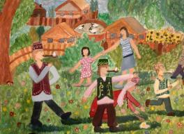 Сабантуй в деревне