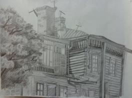 Уходящий, деревянный Иркутск
