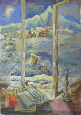 Алтайская деревенька