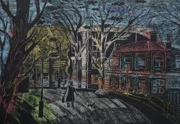 Прогулка по вечернему Томску
