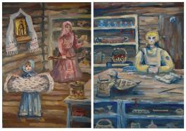 диптих Семья мастеров