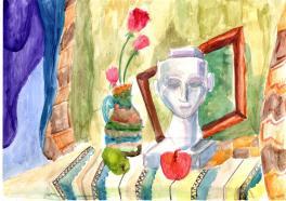 Натюрморт с Нефертити